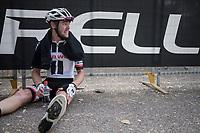 Chris Hamilton (USA/Sunweb) post-finish<br /> <br /> 98th Milano - Torino 2017 (ITA) 186km