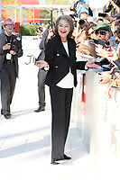 Charlotte Rampling arrives at the 'Hannah' screening during the 74th Venice Film Festival at Sala Grande on September 8, 2017 in Venice, Italy. <br /> CAP/GOL<br /> &copy;GOL/Capital Pictures