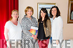 Gill Carey Cookerama, Breda Dowling, Aisling Carmody Creative Practice and Elenor Cronin Cronin Cider at the  Listowel Food Fair Business Seminar in the Seanchai Centre on Friday