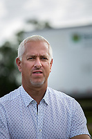 DEL RAY BEACH, FL - APRIL 15: 2017  Trainer Todd Pletcher at Palm Beach Downs, Del Ray Beach, FL. (Photo by Arron Haggart/Eclipse Sportswire/Getty Images)