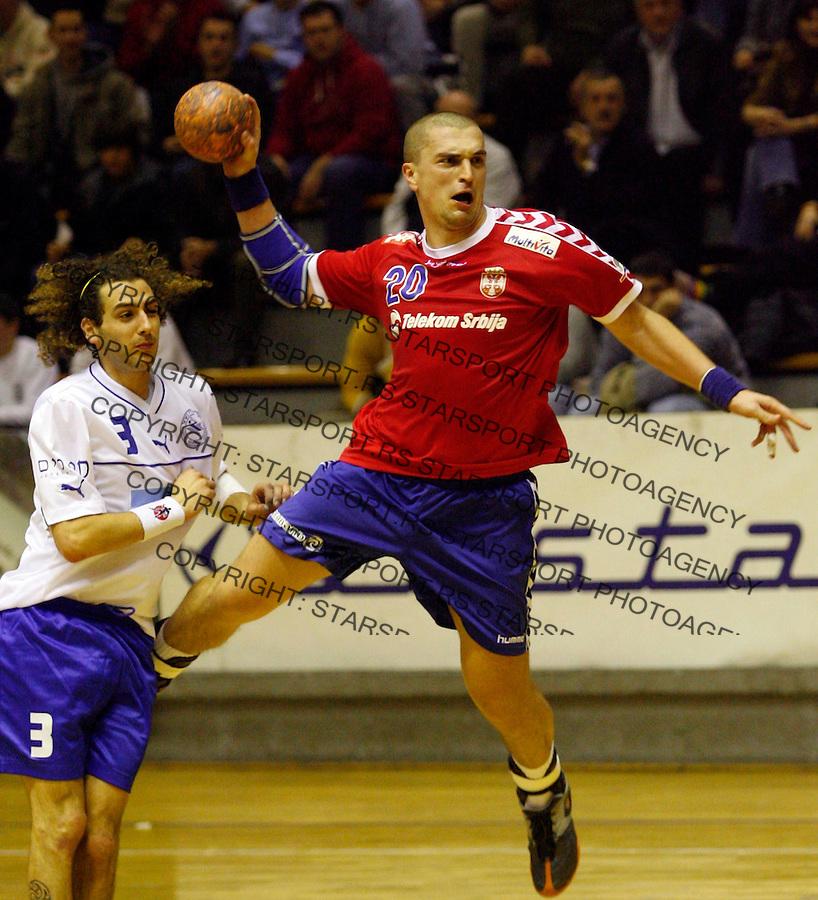 Rukomet, Qualifications, Handball&amp;#xA;Serbia Vs. Israel&amp;#xA;Ratko Nikolic&amp;#xA;Beograd, 04.01.2007.&amp;#xA;foto: Srdjan Stevanovic<br />