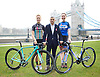 Sadiq Khan, Mayor of London and Olympian Katie Archibald announce world-famous Women&rsquo;s Tour coming to London for the first time on 11th June 2017.<br /> Potters Field outside City Hall, London, Great Britain <br /> 15th February 2017 <br /> <br /> <br /> <br /> Abi van Twisk <br /> Team WNT<br /> <br /> Sadiq Khan <br /> <br /> Katie Archibald (22)<br /> Olympic Gold Medalist <br /> Team Pursuit <br /> Team WNT <br /> <br /> <br /> <br />  <br /> The Mayor of London, Sadiq Khan, and Olympic Gold medallist Katie Archibald have announced this morning that London will host the final stage of The Women's Tour for the very first time on Sunday June 11.<br />  <br /> <br /> <br /> <br /> <br /> Photograph by Elliott Franks <br /> Image licensed to Elliott Franks Photography Services