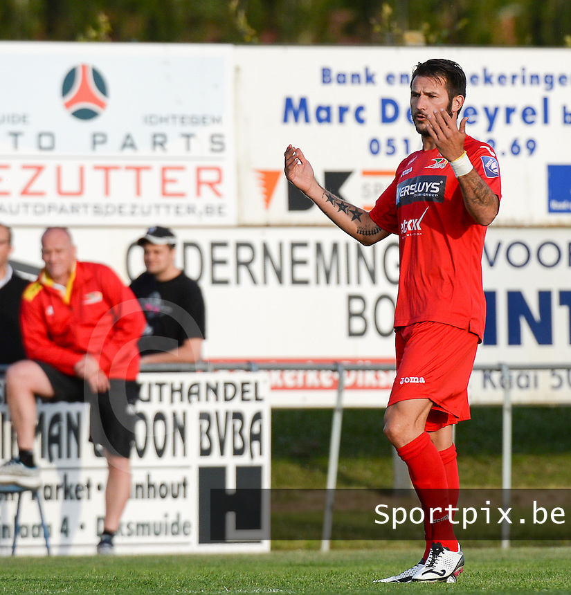 KV Oostende : Carl Hoefkens <br /> foto VDB / BART VANDENBROUCKE
