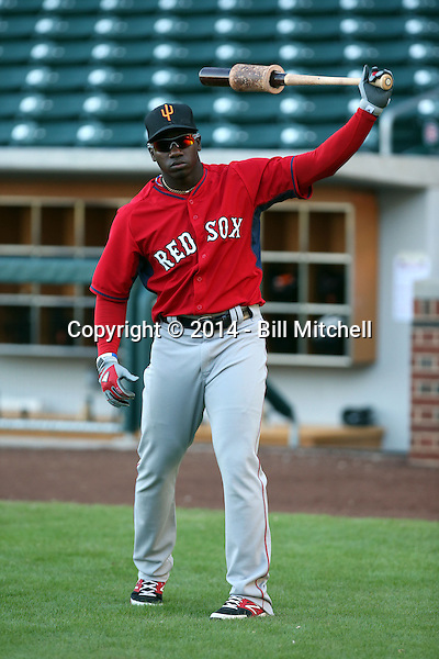 Rusney Castillo - Surprise Saguaros - 2014 Arizona Fall League (Bill Mitchell)