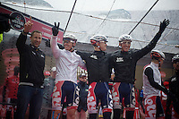 2013 Giro d'Italia.stage 12.Longarone - Treviso: 134km..Team Lotto-Belisol always in happy spirits