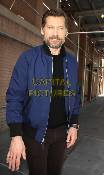 04 25 2016: Nikolaj Coster-Waldau  at the View  to talk about season 6 of HBO's Games of Thrones  in New York. <br /> CAP/MPI/RW<br /> &copy;RW/MPI/Capital Pictures