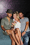 Jozea Flores, Nicole Franzel, Paulie Calafiore at Big Brother 19 premiere airing live at Slate, New York City, New York (photo by Sue Coflin/Max Photos - suemax13@optonline.net