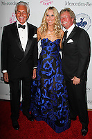 BEVERLY HILLS, CA, USA - OCTOBER 11: George Hamilton, Alana Stewart, Nigel Lythgoe arrive at the 2014 Carousel Of Hope Ball held at the Beverly Hilton Hotel on October 11, 2014 in Beverly Hills, California, United States. (Photo by Celebrity Monitor)