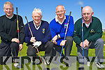 8786-8791.Taking part in the Kerry Captain's Invitational Tournament which took place at Ballyheigue Castle Golf Club on Saturday afternoon were l/r representing Kenmare Golf Club Mike Casey, Ballyheigue Castle Golf Club 2008 Capt. Michael O'Neill, Ardfert Capt. Gerard Pearse and Seamus Shaughnessy Dooks Glof Club Capt..