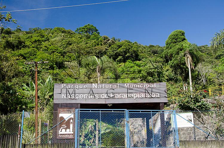 Entrada do Parque Estadual da Serra do Mar na Vila de Paranapiacaba, Santo Andr&eacute; - SP, 04/2013.<br /> * &Eacute; necess&aacute;rio solicitar autoriza&ccedil;&atilde;o para a Vila de Paranapiacaba.