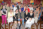 Seamus Fitzgerald, Ballymullen, (seated centre) surprise  60th on sat nite in imperial hotel with family and friends   Copyright Kerry's Eye 2008