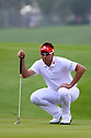 Ian Poulter (ENG) in action during the final round of the Omega Mission Hills World Cup played at The Blackstone Course, Mission Hills Golf Club on November 27th in Haikou, Hainan Island, China.( Picture Credit / Phil Inglis )