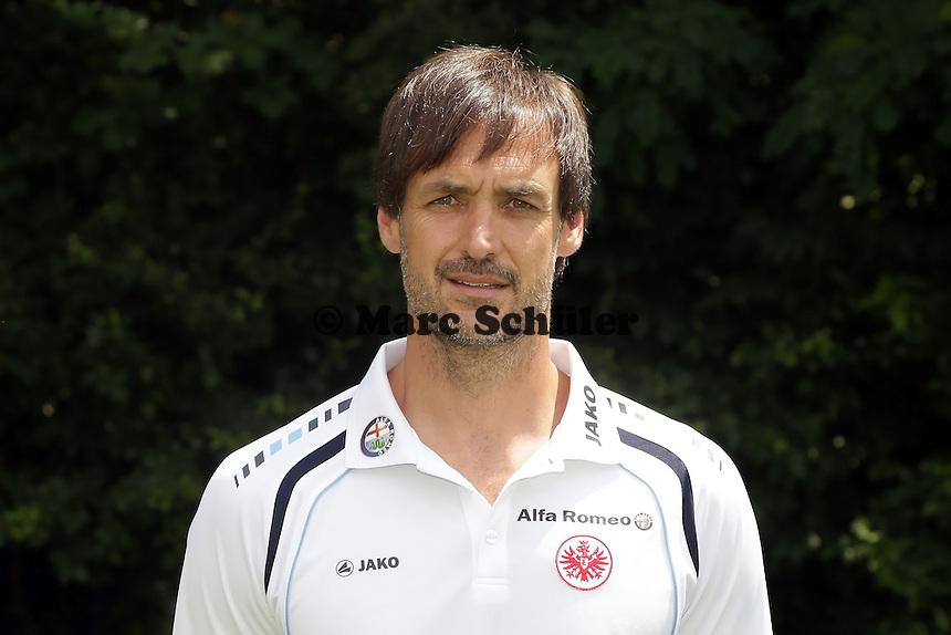 Konditionstrainer Christian Kolodziej - Eintracht Frankfurt Mannschaftsfoto 2013/14