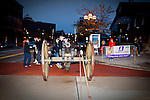 Not just a starter's gun, but a cannon for the Quad Cities Marathon 2010. This photogragh is taken about 45 minutes before the start.