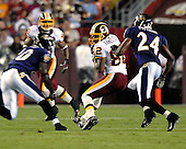 Landover, MD - August 25, 2007 -- Baltimore Ravens against the Washington Redskins at FedEx Field in Landover, Maryland on Saturday, August 25, 2007..Credit: Ron Sachs / CNP