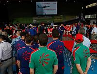 Cerimonia di consegna della 1500 fusoliera di un ATR costruita  nella Leonardo di Pomigliano D'arco<br /> <br /> Ceremony of Delivery  of 1500th   fusolage  at ATR by Leonardo plant in Pomigliano d'arco