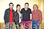 SUM DAZE: Members of Tralee band Sum Daze with some of their fans at the Christy Hennessy Festival at the Brandon hotel, Tralee on Friday l-r:Omar Abdul Salam (Sum Daze), Tanya O'Suullivan, Denis O'Sullivan (Sum Daze) and Andrew Donnellan.