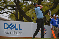 Marc Leishman (AUS) watches his tee shot on 1 during day 3 of the World Golf Championships, Dell Match Play, Austin Country Club, Austin, Texas. 3/23/2018.<br /> Picture: Golffile | Ken Murray<br /> <br /> <br /> All photo usage must carry mandatory copyright credit (&copy; Golffile | Ken Murray)