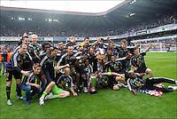 Anderlecht Campione del Belgio .Bruxelles 6/5/2012.Football Calcio 2011/ 2012.RSC Anderlecht vs Club Brugge - Jupiler League.Foto Insidefoto / Philippe Crochet / Photo News / Panoramic