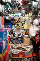 Hardware store owners in Mercado Hidalgo,  Mexico DF, Mexico