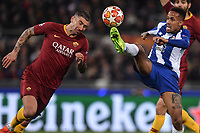 Eder Militao of Porto and Alexander Kolarov of AS Roma.<br /> Roma 12-2-2019 Stadio Olimpico Football Champions League 2018/2019 round of 16 1st leg AS Roma - Porto  <br /> Foto Antonietta Baldassarre / Insidefoto