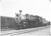 3/4 fireman's-side view of C&amp;TS #483 standing at Chama.<br /> C&amp;TS  Chama, NM