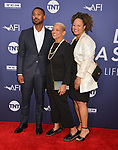 family attends the American Film Institute's 47th Life Achievement Award Gala Tribute To Denzel Washington at Dolby Theatre on June 6, 2019 in Hollywood, California