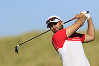 Ruaidhri McGee (IRL) tees off the 4th tee during Friday's Round 2 of the 2018 Dubai Duty Free Irish Open, held at Ballyliffin Golf Club, Ireland. 6th July 2018.<br /> Picture: Eoin Clarke | Golffile<br /> <br /> <br /> All photos usage must carry mandatory copyright credit (&copy; Golffile | Eoin Clarke)