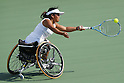 Yui Kamiji (JPN), <br /> SEPTEMBER 11, 2016 - Wheelchair Tennis : <br /> Women's Singles Semi-Final<br /> at Olympic Tennis Centre<br /> during the Rio 2016 Paralympic Games in Rio de Janeiro, Brazil.<br /> (Photo by Shingo Ito/AFLO)