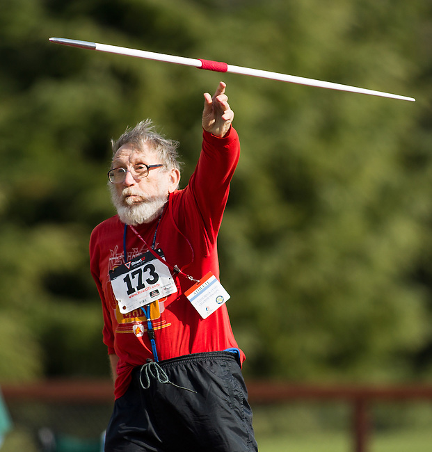 Bay Area Senior Games, Day 2, Track & Field, March 11, 2012..