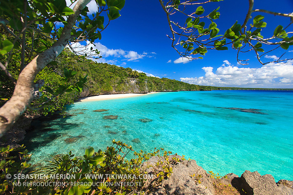 Plage de Kiki, Lifou, Nouvelle-Calédonie