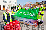 Brendan Foley Chairman of Killorglin Tidy Towns celebrates Killorglin winning the first Green Flag for a town in Ireland with his fellow volunteers on saturday back l-r; Ruth McCarthy, trudi O'Sullivan, Mary Curran, breda falvey, Maria Bateman, Declan Hurley and Orna Eccles