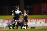 Sky Blue FC midfielder Taylor Lytle (6). Sky Blue FC defeated the Seattle Reign FC 2-0 during a National Women's Soccer League (NWSL) match at Yurcak Field in Piscataway, NJ, on May 11, 2013.