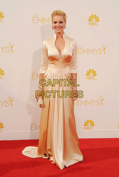LOS ANGELES, CA- AUGUST 25: Actress Katherine Heigl arrives at the 66th Annual Primetime Emmy Awards at Nokia Theatre L.A. Live on August 25, 2014 in Los Angeles, California.<br /> CAP/ROT/TM<br /> &copy;Tony Michaels/Roth Stock/Capital Pictures