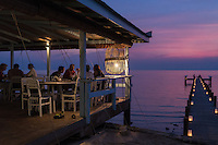 February 09, 2016 - Kep (Cambodia). Sunset at the Sailing Club of Kep, located in the southern coast of Cambodia. © Thomas Cristofoletti / Ruom