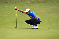 Joakim Lagergren (SWE) on the 10th during Round 2 of the Aberdeen Standard Investments Scottish Open 2019 at The Renaissance Club, North Berwick, Scotland on Friday 12th July 2019.<br /> Picture:  Thos Caffrey / Golffile<br /> <br /> All photos usage must carry mandatory copyright credit (© Golffile | Thos Caffrey)