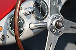 July 22, 2010 - Tokyo, Japan - Interior of a classic Maserati is pictured during the 'Tokyo Concours d'Elegance 2010' at Odaiba district in Tokyo, Japan, on July 22, 2010. Fifty classic cars enters this year's event that runs from July 22 to July 25.