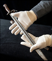 Ronnie Kray archive for sale - Including his bayonet.