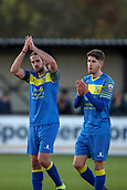 5th November 2017, Damson Park, Solihull, England; FA Cup first round, Solihull Moors versus Wycombe Wanderers; Darren Carter of Solihull Moors thanks the fans