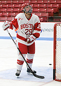 Marie-Philip Poulin (BU - 29) - The Boston University Terriers defeated the visiting Northeastern University Huskies 3-0 on Tuesday, December 7, 2010, at Walter Brown Arena in Boston, Massachusetts.