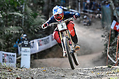 10th September 2017, Smithfield Forest, Cairns, Australia; UCI Mountain Bike World Championships; Aaron Gwinn (USA) riding for The YT Mob on his way to second place in the elite mens downhill race;