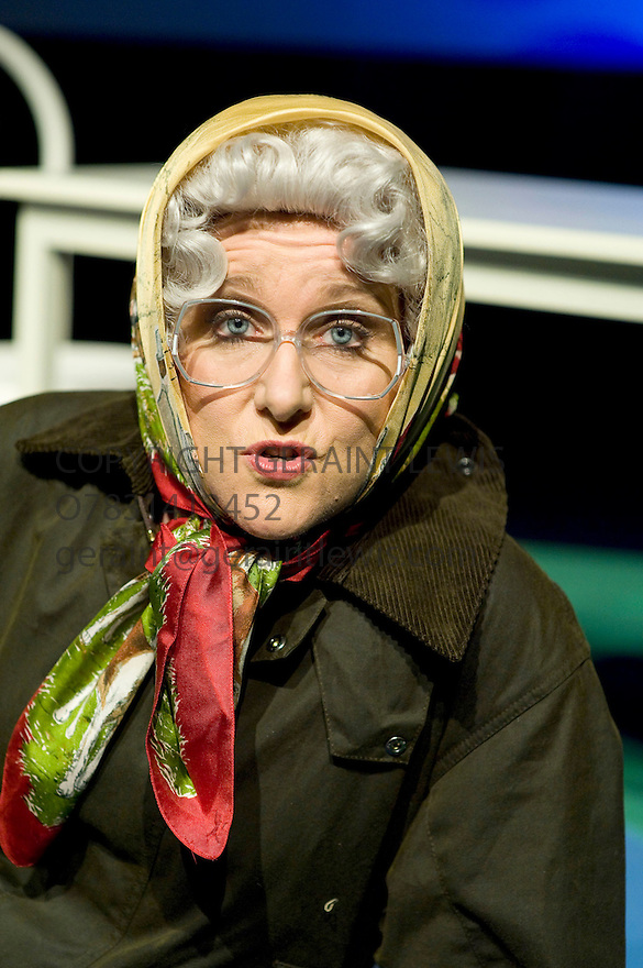 Jan Ravens,A Funny Look At Impressions performing on Tour.CREDIT Geraint Lewis