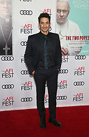 "18 November 2019 - Hollywood, California - Juan Minujin. AFI FEST 2019 Presented By Audi – ""The Two Popes"" Premiere held at TCL Chinese Theatre. Photo Credit: FS/AdMedia"