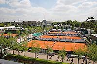France, Paris , May 27, 2015, Tennis, Roland Garros, overall vieuw<br /> Photo: Tennisimages/Henk Koster