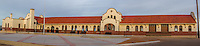 The Tucumcari railroad depot was built in 1926, and given to the city in 2002 and has since been restored.