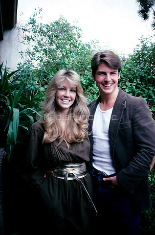 Heather Locklear and Tom Cruise.<br /> &copy; Nancy Barr  / MediaPunch
