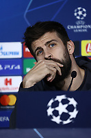 24th February 2020; Stadio San Paolo, Naples, Campania, Italy; UEFA Champions League Football, Napoli versus Barcelona, Barcelona Press Conference; Gerard Piqué of Barcelona
