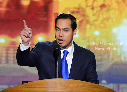 Mayor Julian Castro of San Antonio, Texas and candidate for the United States House of Representatives, delivers the Keynote Address at the 2012 Democratic National Convention in Charlotte, North Carolina on Tuesday, September 4, 2012.  .Credit: Ron Sachs / CNP.(RESTRICTION: NO New York or New Jersey Newspapers or newspapers within a 75 mile radius of New York City)