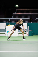 Rotterdam, The Netherlands, Februari 8, 2016,  ABNAMROWTT, BallGirl<br /> Photo: Tennisimages/Henk Koster