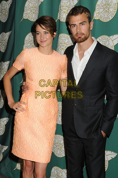 28 February 2014 - Beverly Hills, California - Shailene Woodley, Theo James. 51st Annual Publicists Awards Luncheon held at the Beverly Wilshire Hotel. <br /> CAP/ADM/BP<br /> &copy;Byron Purvis/AdMedia/Capital Pictures
